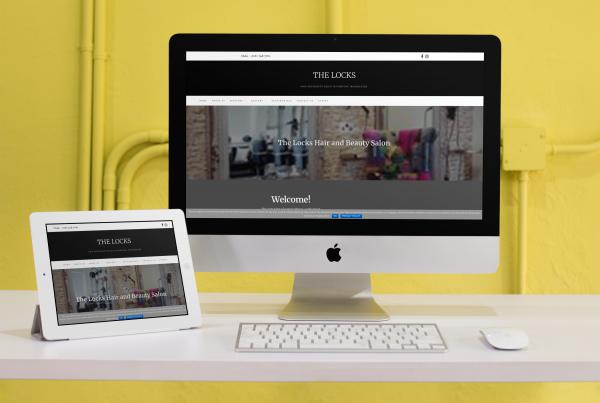 The Locks Salon website