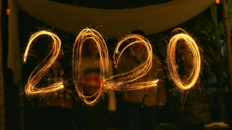 2020 new year new decade